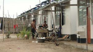 Cocina tradicional de leña en Belén, Iquitos